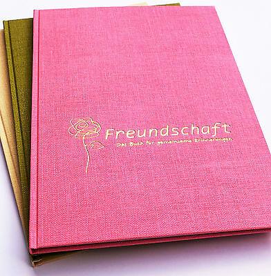 Freundschaft. Das Buch für gemeinsame Erinnerunge. Freundebuch für