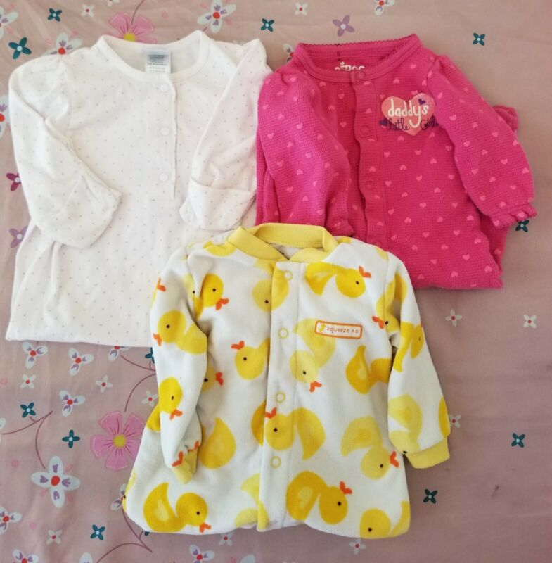 Infant Baby Girl Clothes Size 6 Months  (lot Of 3)