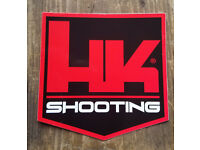 HK Decal Sticker Heckler /& Koch P7M8 P7M13 HK416 MR556 MR762 USP P7 VP90 SP5k