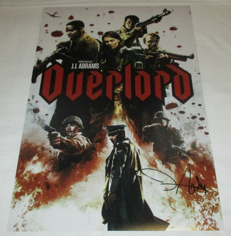 JOVAN ADEPO SIGNED OVERLORD 12X18 MOVIE POSTER 4