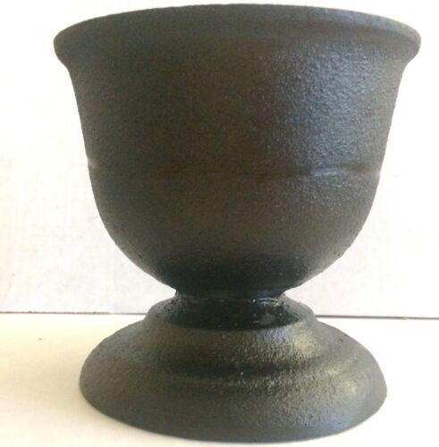 Antique Cast Iron Mortar Apothecary Druggist Rx Chemist 1800s