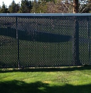 Privacy lattice for6 foot high chain link fence