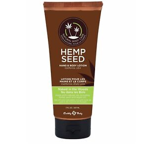 Earthly Body  Hemp Seed Hand and Body Lotion 7 oz
