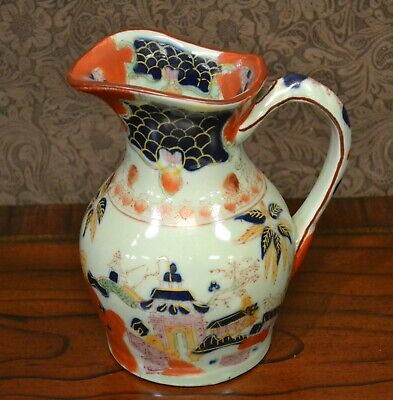 Water a Pitcher-Asian Ceramic Pitcher-Hand Painted-7