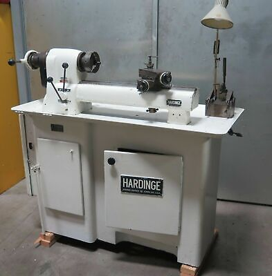 Hardinge Esm Super Precision Lathe 5c Collet Closer Cross Slide