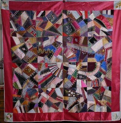Green America #2 Wall Hanging handmade patchwork textile art flag