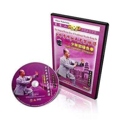 Traditional Shaolin Kungfu Series Shao Lin Elementary Changquan - Shi Deyang DVD