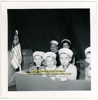 1958 Photo THE SKIPPER RYLE Children's TV Show Kids Audience WKRC Cincinnati OH