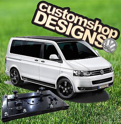 VW T5 Transporter Camper Van Double Seat Swivel Base (RHD UK Model)