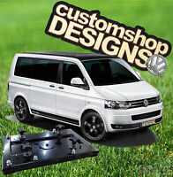 Vw T5 Transporter Camper Van Double Seat Swivel Base (rhd Uk Model) - customshop - ebay.co.uk