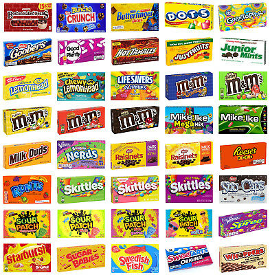 Theater Box Candy, Wide Selection - Buy 1 Box, Get 2nd Box Half Price](Buy Candy)