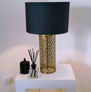 Designer Bedside Table Lamp as NEW! $155 EACH