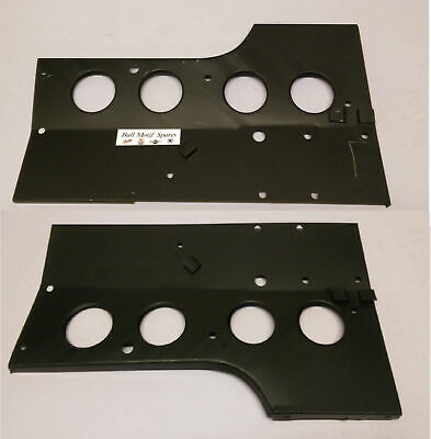 Morris Minor R/H and L/H Engine Bay Tie Plates - UK Made