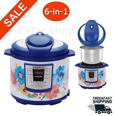 Instant Pot Multi-Use Programmable Pressure Cooker, Slow Sau