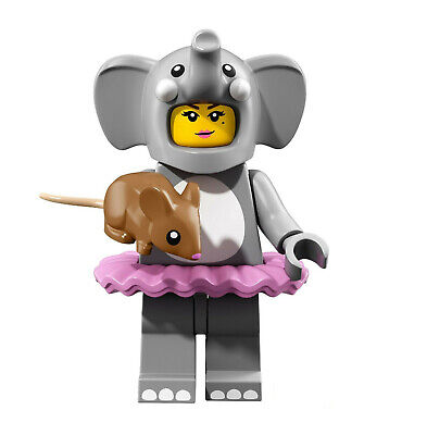 LEGO® Minifiguren - 71021 Serie 18 Figur 1 Mädchen im Elefantenkostüm - M18 F2