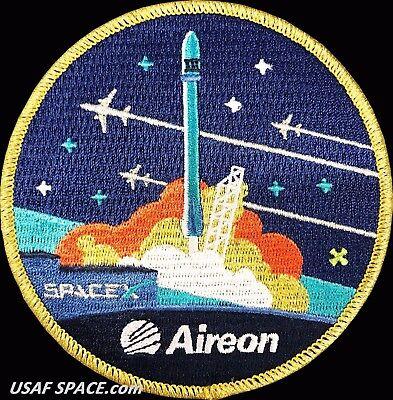 Original Aireon  Iridium Next 3   Spacex Falcon 9 Launch Satellite Mission Patch