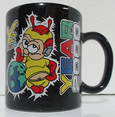 y2k bug coffee mug danawares year 2000 new millennium ceramic made in montreal