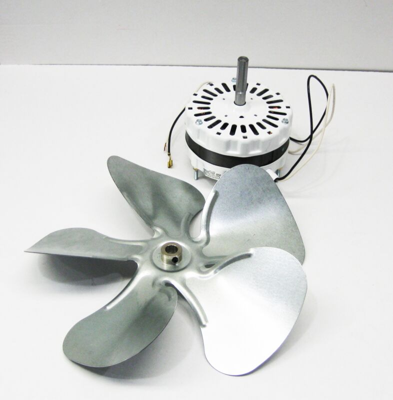 Attic Fan Ventilator MOTOR and BLADE fits 1050 and 1200 CFM