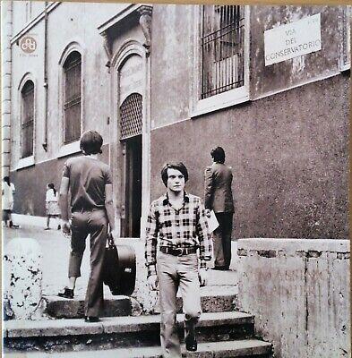 MASSIMO RANIERI via del conservatorio 1971 VG + VG vinile 33 giri LP