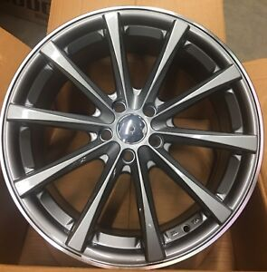 """New mags 18"""" 5x114.3, Gray Machine lips. Special 680$"""