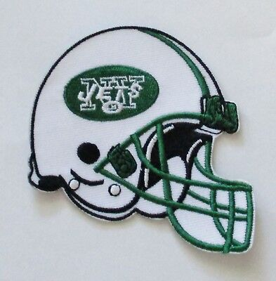 0397c915e16 LOT OF (1) NFL NEW YORK JETS EMBROIDERED HELMET PATCH IRON-ON ITEM # 27