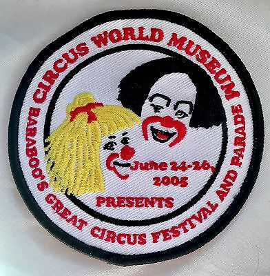 Circus World Museum June 2005 Iron On Patch