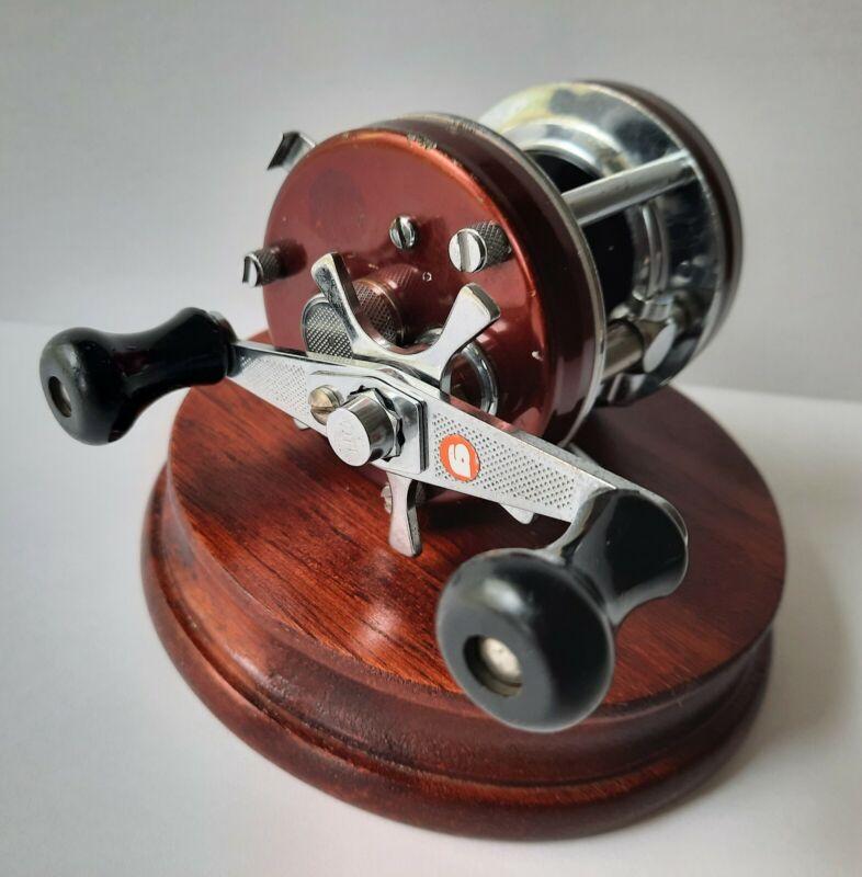 Vintage 1976 Abu Ambassadeur 5500 Brown / Copper High Speed Casting Reel, Rare
