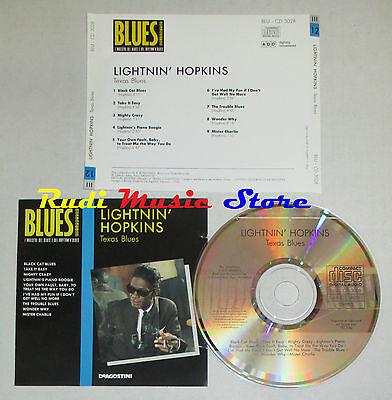 CD LIGHTNIN' HOPKINS Texas blues BLUES COLLECTION 1993 DeAGOSTINI mc lp dvd vhs (Lightnin Mc)