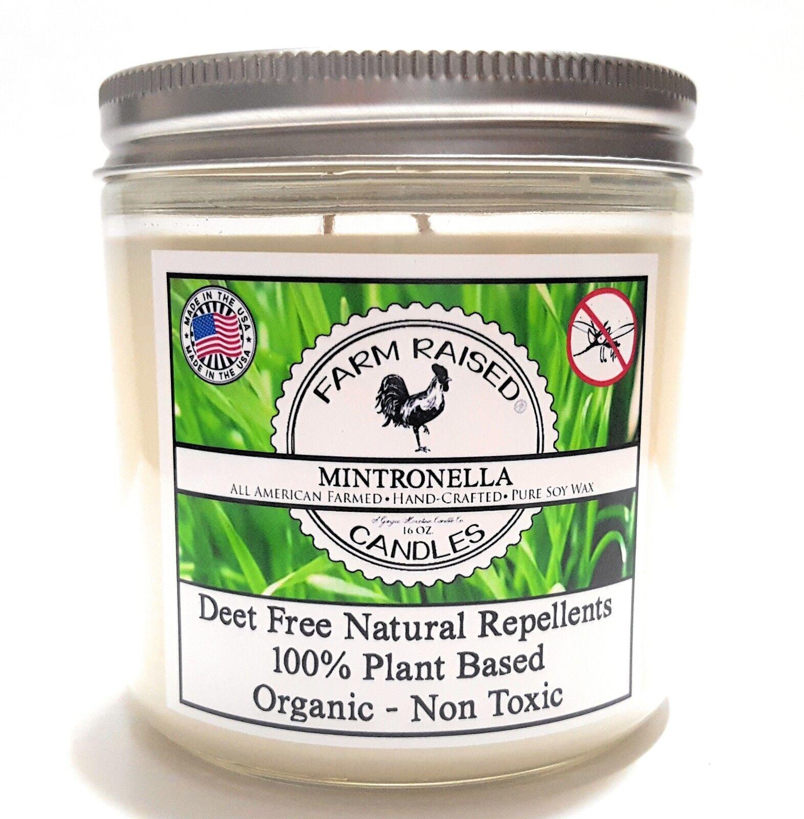 Mintronella Essential Oil No-See-Um Mosquito Repellent 16-oz