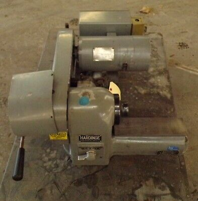 Hardinge Bench Model Lathe Speed Precision Model Hsl-59 3 Ph 12 Hp 230 V