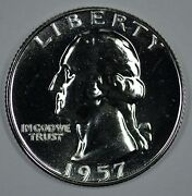 1957-P Washington Quarter