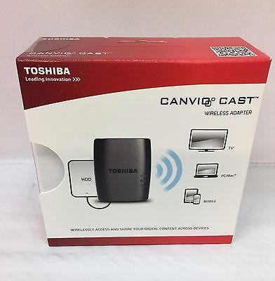 Original Toshiba Canvio Wireless Adapter for External Hard Drives HDWW100XKWU1