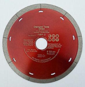 Disco corte de diamante extrafino 150 mm gres porcel nico for Baldosas de granito