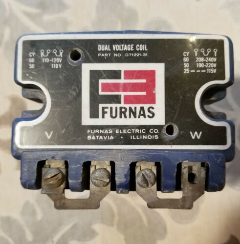 Furnas Dual Voltage Coil D71221-31  Used
