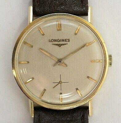 14K Longines Dress Watch, Ref. R6010, Cal 370, Runs Perfectly