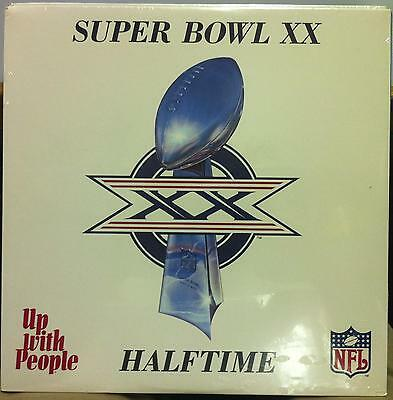 Up With People Nfl Super Bowl Xx Halftime Show Lp Sealed Uwp 1147 Vinyl 1986