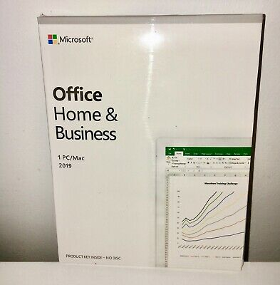 Microsoft Office Home and Business 2019 For 1 PC - Genuine / New & Sealed for sale  Shipping to South Africa