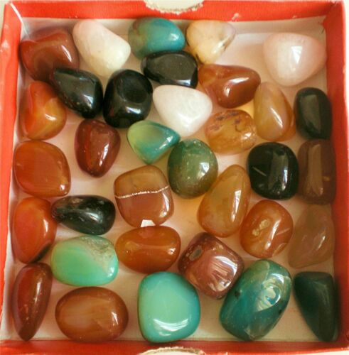 Wholesale Natural Polished AAA  Agate Loose Gemstones Stones Mixed Shapes & Size