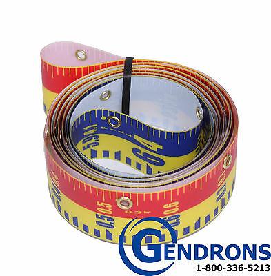 Elevation Rod (REPLACEMENT TAPE 10' FOR LASERLINE DIRECT ELEVATION CUT FILL LENKER GRADE)