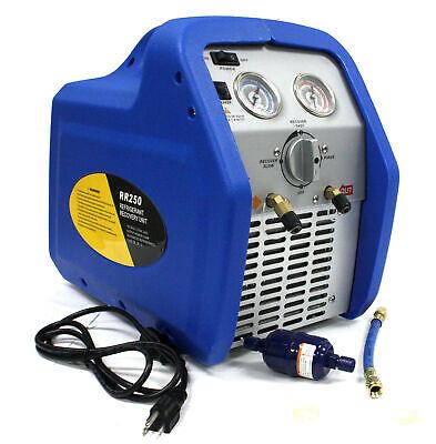 Portable Hvac Ac Vacuum Refrigerant Recovery Machine 34hp R410a R134a R12 R22