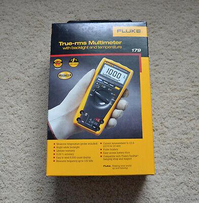 Fluke 179 Esfp True Rms Multimeter With Backlight And Temperature