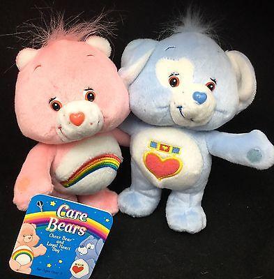 Care Bears Cheer Loyal Herz Hund Nwt Plüsch 9