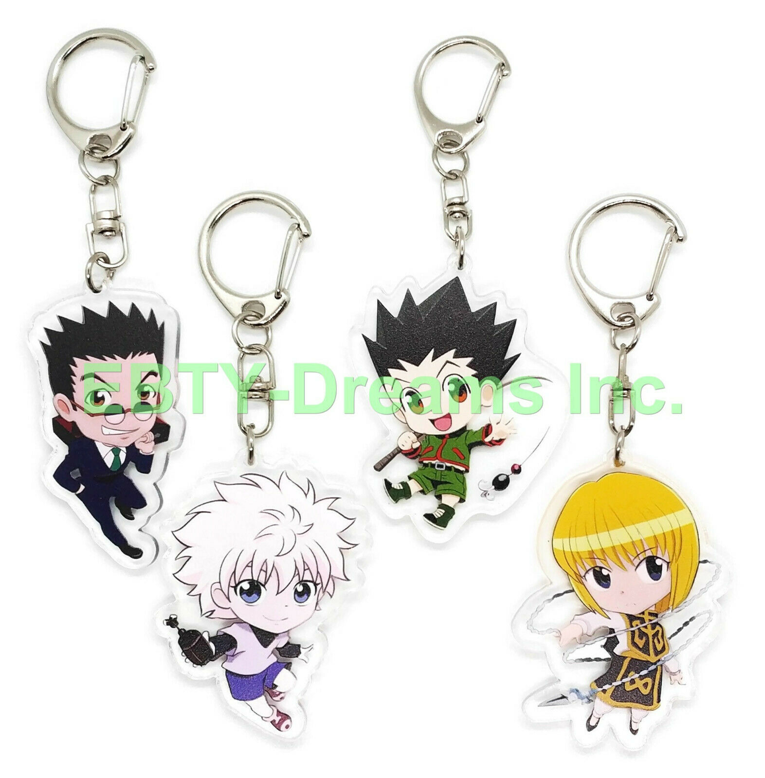 Anime Hunter x Hunter /& Characters Multi Mix Color Lanyard Key Chain ~