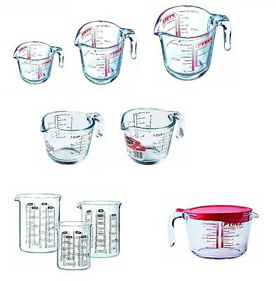 PYREX Clear  Measuring - Mixing Jug . Kitchen - Heavy -