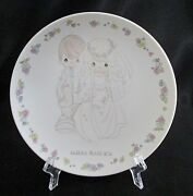 Precious Moments Enesco Plate