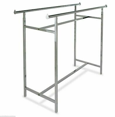 Rack Straight Double Bar 60 L Adjustable 48 - 83 H