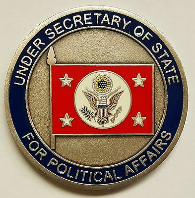 United States Department Of State Under Secretary Of State For Political Affairs