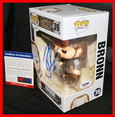! Jerome Flynn Signed Game Of Thrones GOT Autographed Bronn Funko POP PSA JSA !