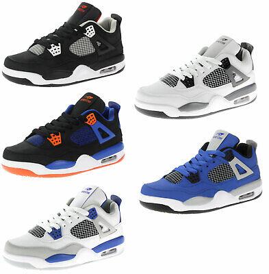 Herren High Boot Tops (Herren Jungen Sneaker Boots Sportschuhe Turnschuhe High Top Schnürer Teens 82609)