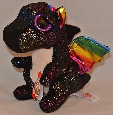 New! 2018 Ty Beanie Boos ANORA the Dragon 6